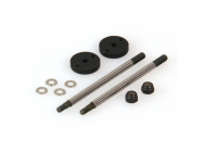 Shock Shaft Set, Big Bore, Rear (Dominus) - HLNA0240