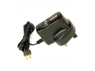 Wall Charger, NiMH 9V-500mA 6C HCT (UK) - HLNA0608