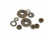 Gear Set and Pins, Internal Differential with Cross-shafts (Four 10SC) - HLNS1010