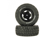 Tires and Wheels, Assembled, Black (Four 10SC) - HLNS1102
