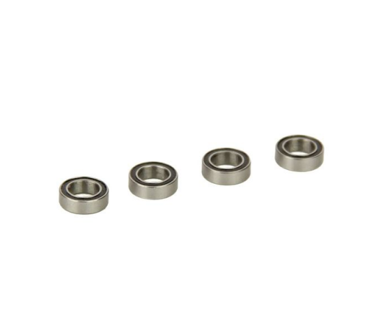 Ball Bearings, Rubber Sealed 5x8x2.5mm (4pcs) (Four 10SC) - HLNS1177