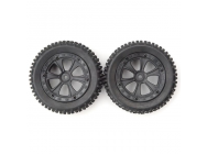 Front Tires Unit (2pcs) for Dune Racer XB - BSD213-033