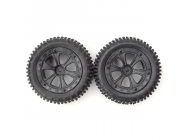 Rear Tires Unit (2pcs) for Dune Racer XB - BSD709-002