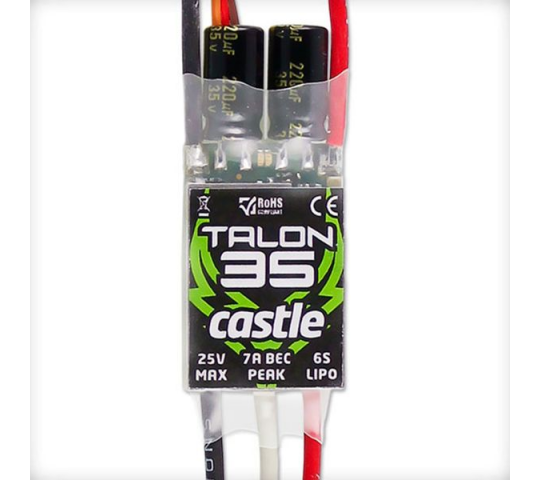 Talon 35, 25V 35 AMP ESC, With Heavy Duty BEC - CSE010012200