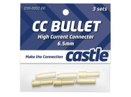 Set of 3 each female and male 6.5mm connectors. - CSECCBUL653