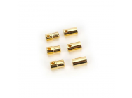 SET OF 3 FEMALE AND MALE 8.0MM BULLET CONNECTORS - CSECCBUL83