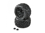 SPEEDTREADS Vulture 1/10 ST/MT Tires MNTD (2) - DYNW0021