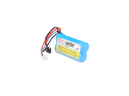 Reaction 7.4V 1200mAh 2S 20C LiPo EC3 - DYNB0110EC