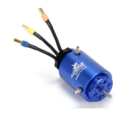 6 Pole Waterproof BL 1650KV 40x82mm Motor - DYNM3935