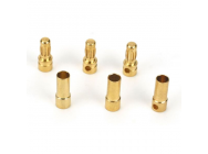 Gold Bullet Connector Set, 3.5mm (3) - DYNC0043