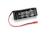 6V 1400mAh NiMH Receiver Flat Pack with BEC - DYN1448