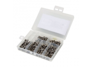 Stainless Steel Screw Set: Vaterra Twin Hammers - DYNH1060