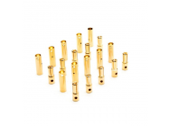 Gold Bullet Connector Set, 4mm (10) - DYNC0087