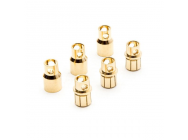 Gold Bullet Connector Set, 8.0mm (3) - DYNC0093