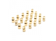 Gold Bullet Connector Set, 8.0mm (10) - DYNC0094