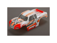 Body, White/Orange: 1:10 AMP MT - ECX230016