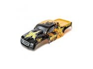 Body, Orange/Black: 1/10 2wd/4wd Ruckus - ECX230026