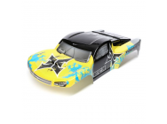 Body, Yellow/Blue: 1/10 2wd/4wd Torment - ECX230029