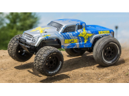 1/10 2wd Ruckus MT BD,Lipo: Silver/Blue RTR INT - ECX03331IT1