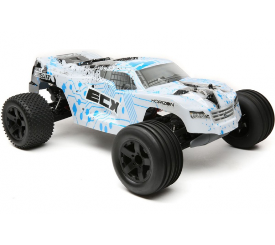 1/10 2wd Circuit Brushed White/Blue RTR INT - ECX03330IT1