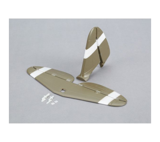 Tail Set with Accessories: UMX P-47 BL - EFLU3260