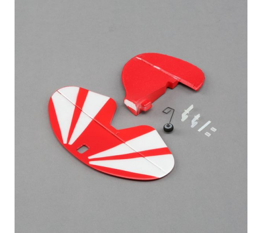 Tail Set w/Accessories: UMX Pitts S-1S - EFLU5260