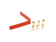Gold Bullet Connector Set, 6.5mm (3) - EFLA266