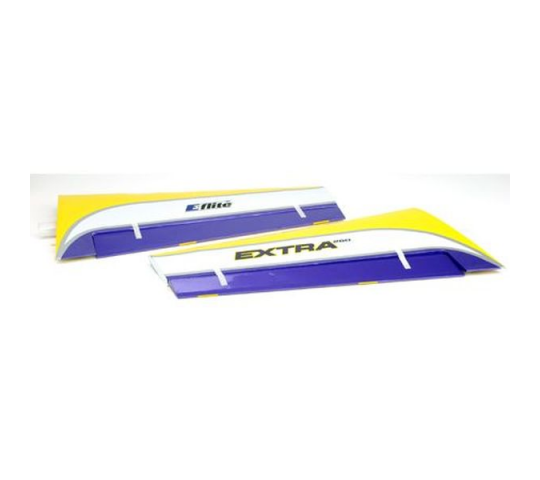 Wing Set with Ailerons: Extra 260 480 - EFL2476