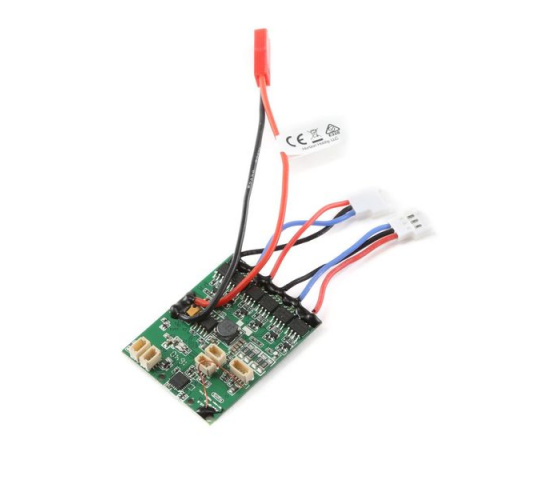 AS6410NBLT RX:DSMX 6-Ch AS3X w/Twin Brushless ESC - EFLAS6410NBLT