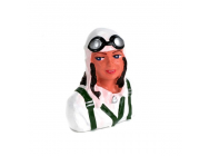 1/9  Pilot,  Meredith  with Helmet & Goggles - HAN9103