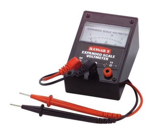 Expanded Scale Voltmeter with Leads - HAN105