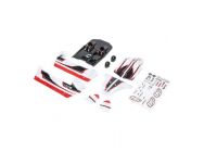 Body Set, White/Red: Mini 8IGHT-DB - LOS210011