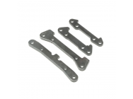Pivot Pin Mount Set, Steel (4): TENACITY - LOS234023