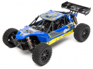 Mini 8ight DB: 1/14 4wd Buggy RTR - Blue Int - LOS01009IT2