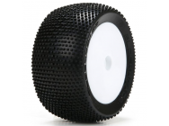 Blockhead Tires, Mounted (2): Mini 8T - LOS41004
