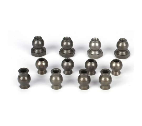 Camber & Steering Pivot Ball Set (12): 5TT - LOSB5904