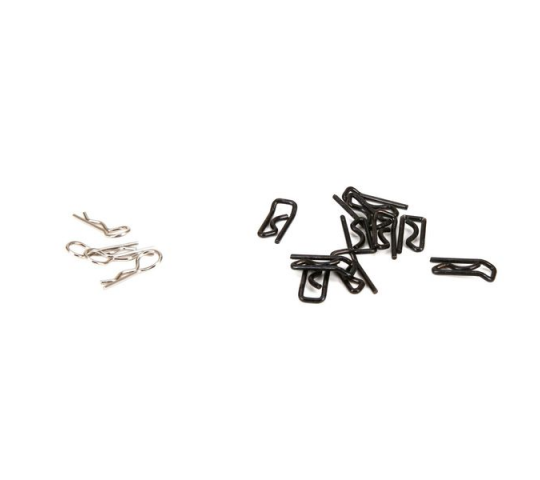 Body Clip, Large (10) & Small (4): 1:5 4wd - LOS256005