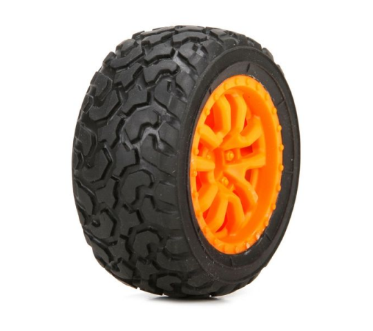 FF/RR Desert Spec Tire,(2) Mounted: Mini DT - LOS41005