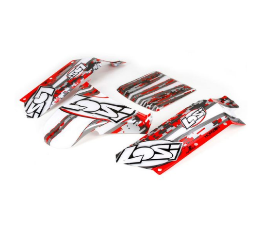 Body Panels, Silkscreened, Complete: 1:5 - LOS250006