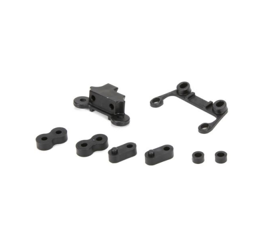 Spacer Set For Aluminum Shock Tower: TEN SCBE - LOS234009