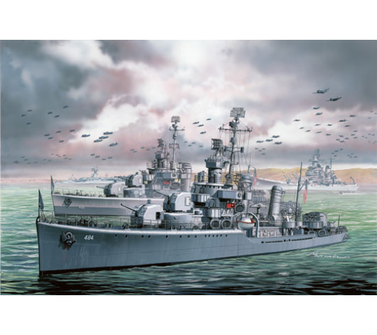 USS Buchanan DD-484 Dragon 1/700 - T2M-D7089