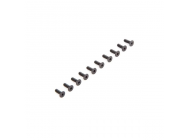 Flat Head Screws M2.5 x 8mm (10) - LOS235009