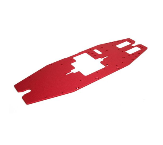 Chassis Plate, Top: LST XXL2-E - LOS241010