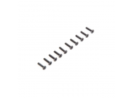 Flat Head Screws M2.5 x 12mm (10) - LOS235010