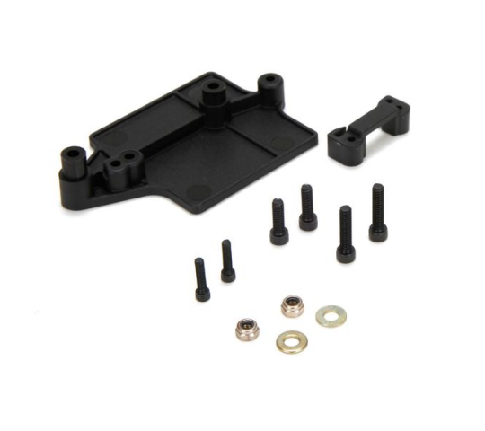 ESC and on/off switch Mounts: LST XXL2-E - LOS241011