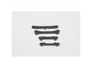 Pivot Pin Mount Set, Steel (4): 10-T - LOSB2213