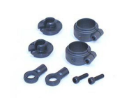 Shock Spring Clamps & Cups - LOSA5023