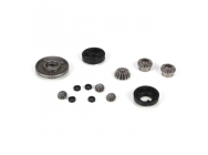 F/R Diff Gear, Housing & Spacer Set: Mini 8IGHT - LOSB1923