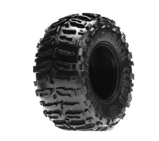 Front/Rear Rock Claws 2.2 Tires w/ Foam, Blue (2) - LOSA7682B