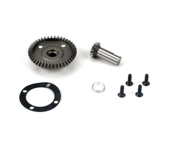 Front/Rear Diff Ring & Pinion: LST, LST2, AFT, MGB - LOSB3534